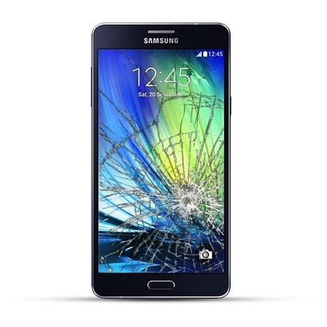 Samsung Galaxy A7 A750F Reparatur Display Touchscreen + LCD