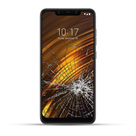 Xiaomi Pocophone F1 Reparatur Display LCD Touchscreen