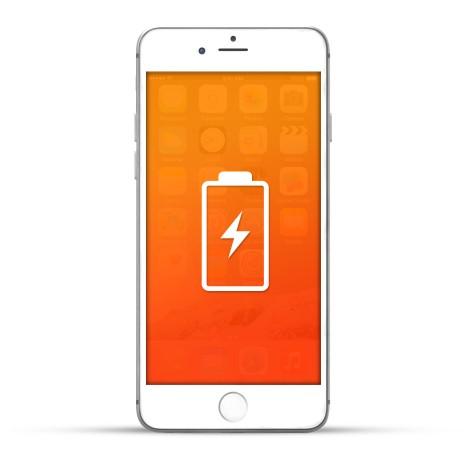 Apple iPhone 6s Plus Reparatur Akku / Akkutausch Weiss