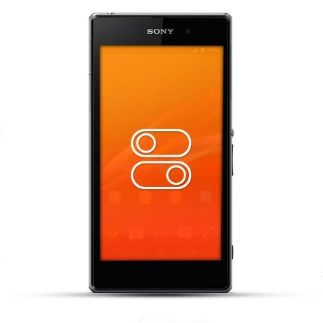 Sony Xperia Z1 Reparatur Schalter