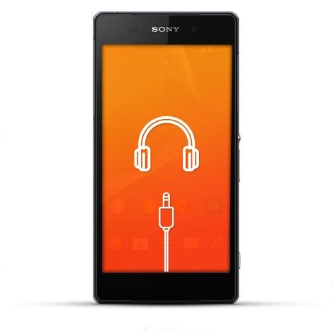 Sony Xperia Z2 Reparatur Kopfhörerbuchse