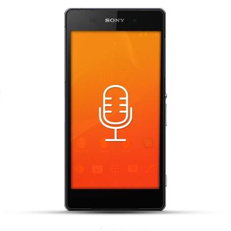 Sony Xperia Z2 Reparatur Mikrofon
