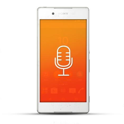 Sony Xperia Z4 Reparatur Mikrofon weiß