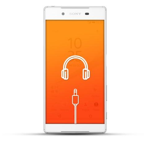 Sony Xperia Z5 Reparatur Kopfhörerbuchse weiß