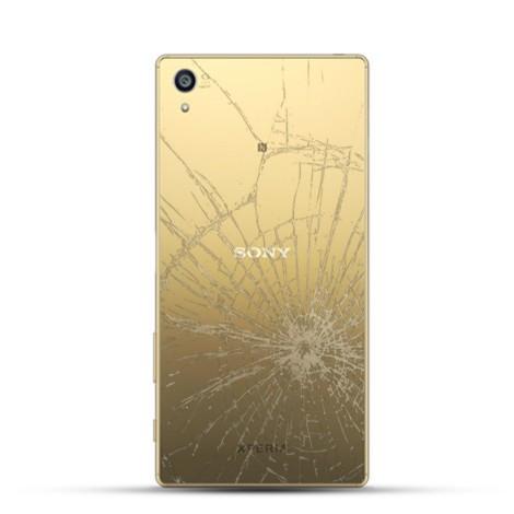 Sony Xperia Z5 Premium Reparatur Backcover gold