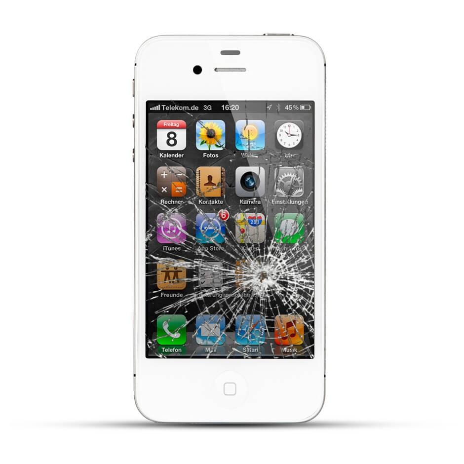 display glas reparatur iphone 4