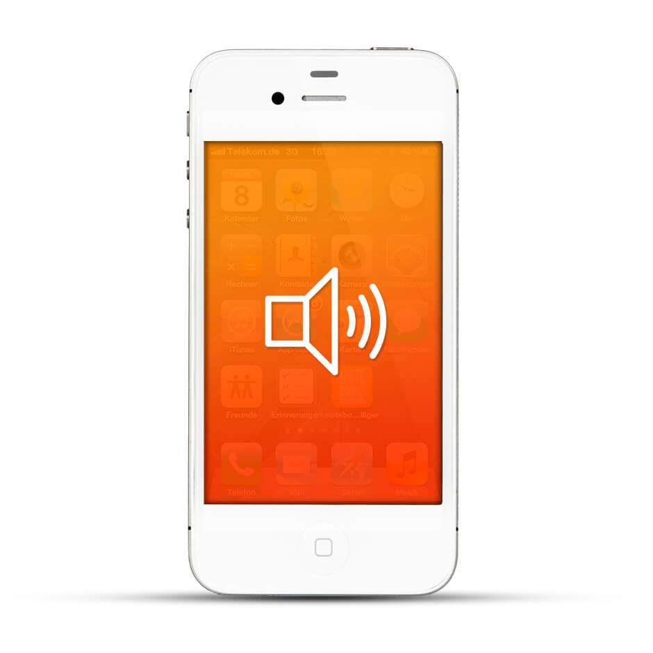 apple iphone 4 4s reparatur lautsprecher service4handys. Black Bedroom Furniture Sets. Home Design Ideas