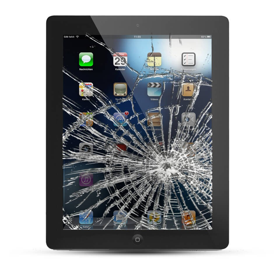 apple ipad air display reparatur 2 3 4 5 air wifi 3g glas service4handys. Black Bedroom Furniture Sets. Home Design Ideas