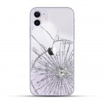 iPhone 11 Backcover Reparatur / Tausch / Wechsel violett