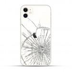 iPhone 11 Backcover Reparatur / Tausch / Wechsel weiß