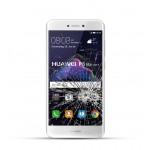 Huawei P8 Lite Reparatur Dispay Touchscreen Glas weiss