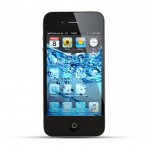 Apple iPhone 4 / 4s Reparatur Wasserschaden Behandlung Black