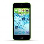 Apple iPhone 5c Reparatur Wasserschaden Behandlung Green