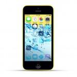 Apple iPhone 5c Reparatur Wasserschaden Behandlung Yellow