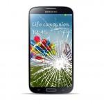 Samsung Galaxy S4 Active Reparatur LCD Dispay Touchscreen Glas Black