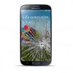 Samsung Galaxy S4 Reparatur LCD Dispay Touchscreen Glas Scwarz