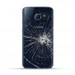Samsung Galaxy S6 Edge Reparatur Backcover Schwarz