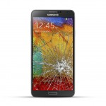 Samsung Note 3 (N9005 / N7505) Reparatur LCD Dispay Touchscreen Glas Schwarz