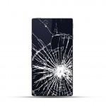 Sony Xperia Z3 Reparatur Backcover Glas Black