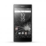 Sony Xperia Z5 Reparatur LCD Display Touchscreen Glas Schwarz