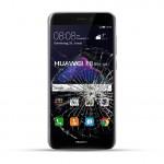 Huawei P8 Lite Reparatur Dispay Touchscreen Glas schwarz