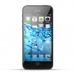Apple iPhone 5 Reparatur Wasserschaden Behandlung Black