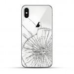 iPhone X Backcover Reparatur / Tausch / Wechsel weiß