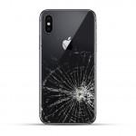 iPhone X Backcover Reparatur / Tausch / Wechsel schwarz