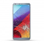 LG G6 Reparatur LCD Touchscreen Display LCD silber