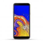 Samsung Galaxy J4 Plus Reparatur Display Touchscreen Glas gold