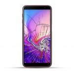Samsung Galaxy J6 Plus Reparatur Display Touchscreen Glas rot