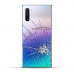 Samsung Note 10 Reparatur Backcover blau