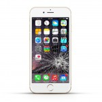 Apple iPhone 6 Reparatur LCD Display Touchscreen Glas White