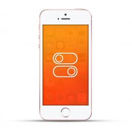 Apple Iphone SE Laut- / Leise Schalter oder Ein- / Aus Schalter weiss