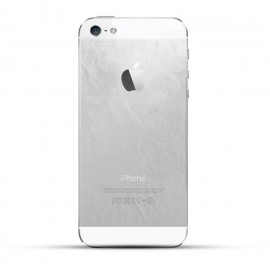 Apple iPhone 5 Reparatur Backcover Glas Weiss