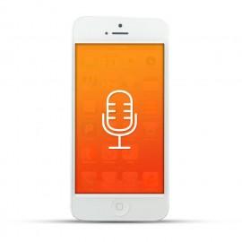 Apple iPhone 5 Reparatur Mikrofon White