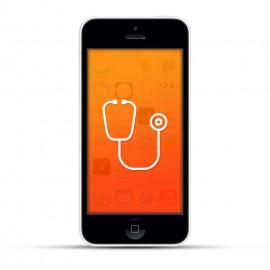 Apple iPhone 5c Reparatur Diagnose White