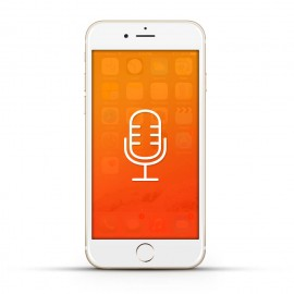 Apple iPhone 6 Reparatur Mikrofon White