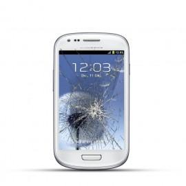 Samsung Galaxy S3 Mini Reparatur LCD Display Touchscreen Glas Weiss
