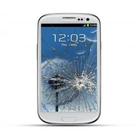 Samsung Galaxy S3 Reparatur LCD Dispay Touchscreen Glas Weiss