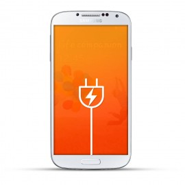 Samsung Galaxy S4 Reparatur USB Dock White