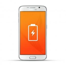 Samsung Galaxy S6 Reparatur Akku / Akkutausch Weiss
