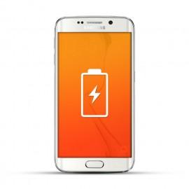 Samsung Galaxy S6 Edge Reparatur Akku / Akkutausch Weiss