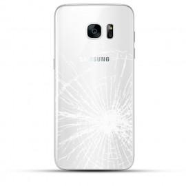 Samsung Galaxy S7 Backcover Reparatur weiß