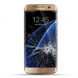Samsung Galaxy S7 Edge Reparatur Display Touchscreen gold