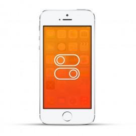 Apple iPhone 5s Reparatur Schalter White