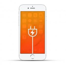 Apple iPhone 7 Reparatur USB Dock / Ladebuchse Weiss