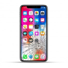 Apple iPhone X Reparatur LCD Display Touchscreen Glas Schwarz