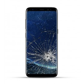 Samsung Galaxy S8 Plus Reparatur Display Touchscreen schwarz