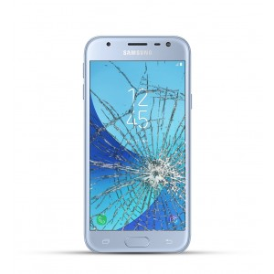 Samsung Galaxy J3  Reparatur Display Touchscreen Glas